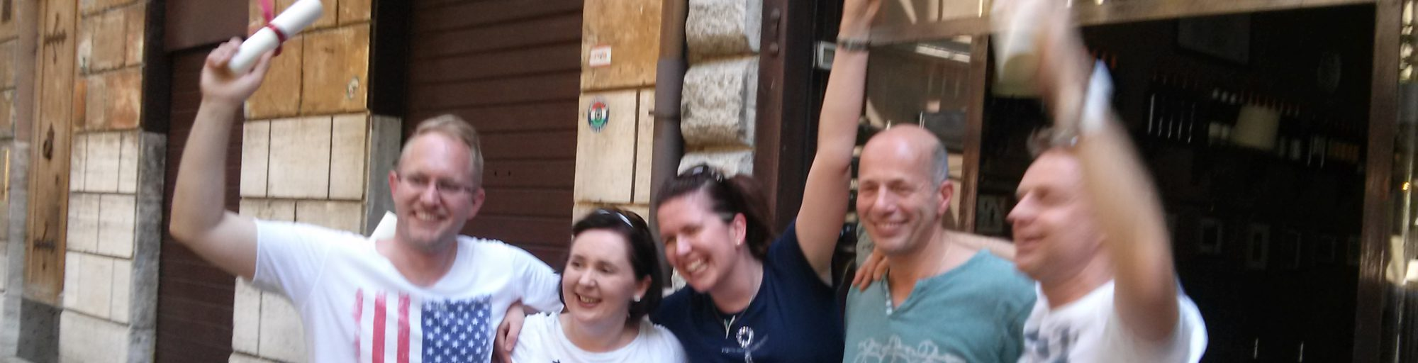 Teambuilding incentives in Rome
