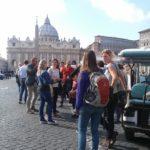team building tour in rome